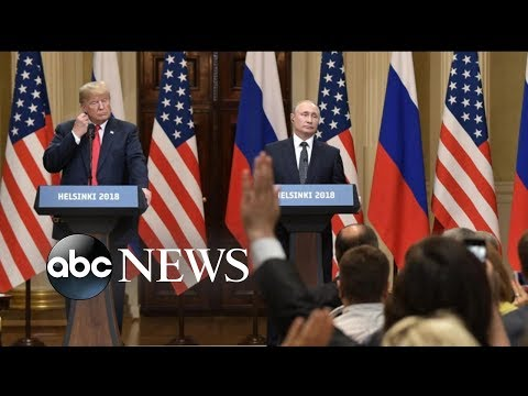 Trump-Putin news conference sends shockwaves around the world