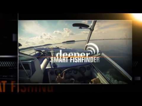 Deeper Deeper PRO+ Wifi-GPS okos halradar videó