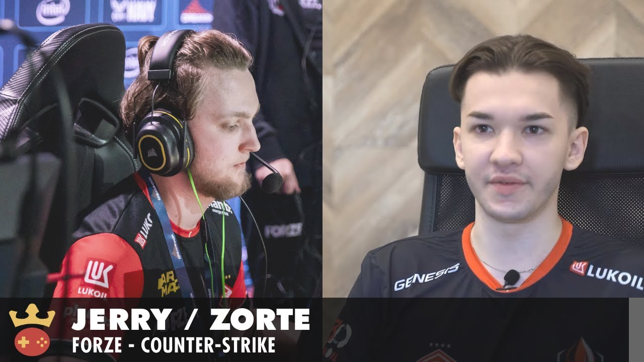 Video of Interview with Jerry & zorte from forZe at ESL Pro League Season 14