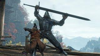 Sekiro: Shadows Die Twice - Armored Warrior Boss Fight