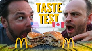 American vs. Canadian McDonald's… It's TOTALLY different.