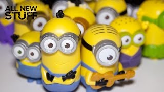 Minions Movie McDonalds Happy Meal Toys Full Set of 12 July 2015