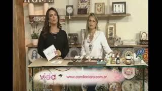 Placa decorativa com madeira Rede Vida   Vida Melhor 12 05 2016   Camila Claro