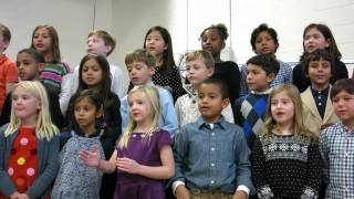 "Foote School 2nd Graders Sing ""Over the River and Through the Woods"""