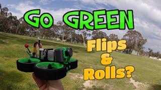 IFlight Green Hornet - FPV CineWhoop Flips & Rolls ????????