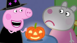 Peppa Pig Official Channel   Peppa Pig's Giant Halloween Pumpkin Competiton