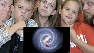 HOW THE UNIVERSE IS WAY BIGGER THAN YOU THINK REACTION