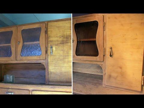 Küchenschrank: Einfach selbst restauriert