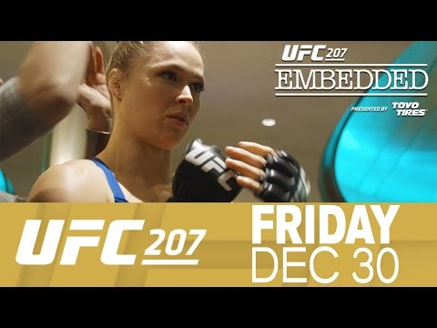 UFC 207 Embedded: Vlog Series - Episode 2