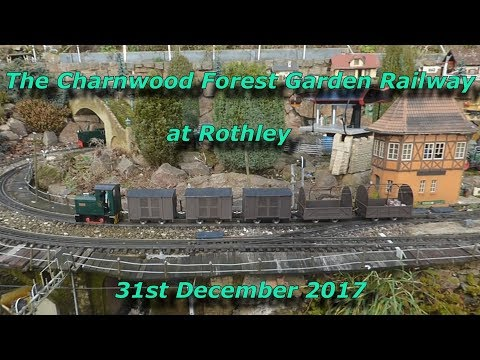 A visit to the Charnwood Forest Garden Railway at Rothley 31…