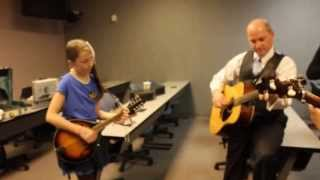 11 year old singing Cumberland River with Dailey & Vincent (2)