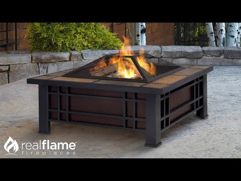 Real Flame - Morrison - Outdoor Fire Pit