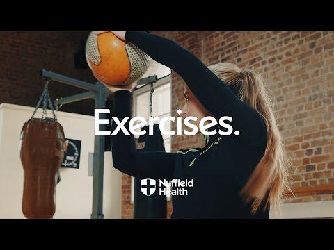 Medicine Ball Half Kneeling Chop | Nuffield Health