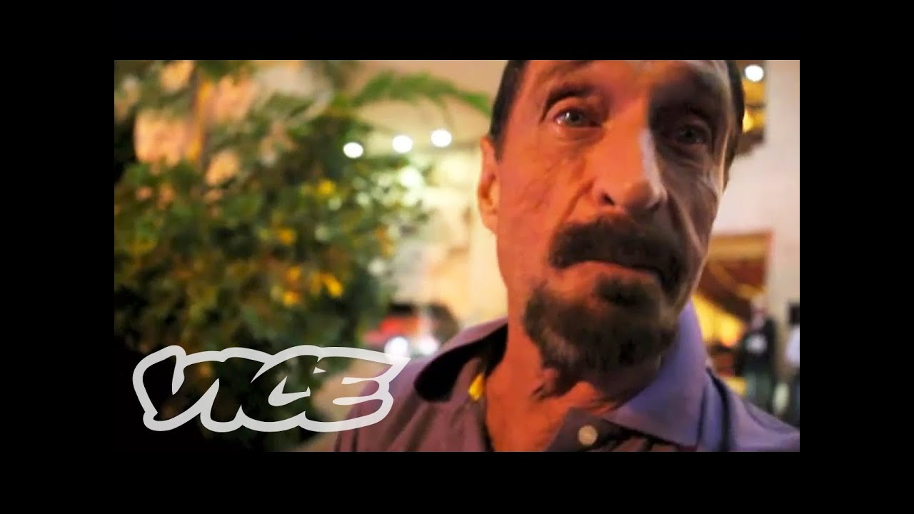Now John McAfee Is Writing An Insane Blog While He's In Jail