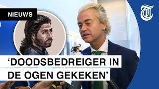 Zes jaar cel geëist tegen aanslagdreiger Wilders