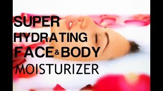 Super Hydrating Face And Body Moisturizer- MultiVitamin Moisturizer - Subliminal Affirmations