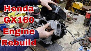Honda GX160 Total Engine Rebuild