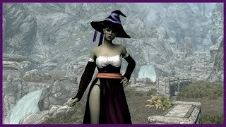 Skyrim Mod - Sorceress Outfit CBBE - Dragons Crown