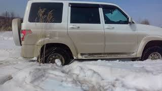 Простой самовытаскиватель на УАЗ