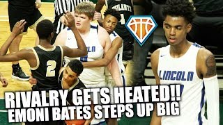 Emoni Bates DROPS 40 IN HEATED RIVALRY GAME!! | Back & Forth Game Needs OVERTIME to Decide