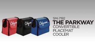SM-7192 The Parkway Convertible Placemat  Cooler