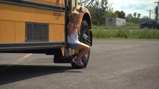 Watch 7-Year-Old Girl Get Dragged By Bus After Backpack Gets Stuck in Door