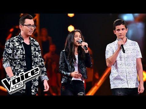 """Sieczka, Makowski, Jagiełło – """"Lubię wracać tam gdzie byłem"""" – Bitwy – The Voice Kids Poland"""