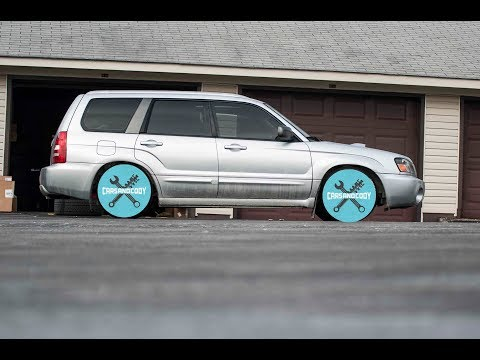 NEW WHEELS FOR THE FORESTER!!!!