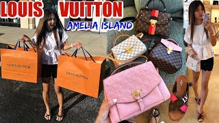 AMELIA ISLAND + BEST SHOPPING DAY AT LOUIS VUITTON | VLOG | CHARIS