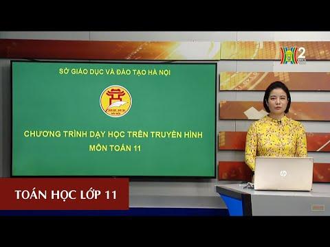 MÔN TOÁN - LỚP 11 | ĐƯỜNG THẲNG VUÔNG GÓC VỚI MẶT PHẲNG (TIẾT 1) | 16H30 NGÀY 02.04.2020 | HANOITV