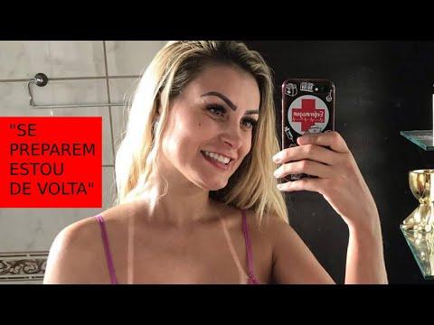 Andressa Urach anuncia volta ao Miss Bumbum