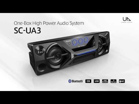 Panasonic One-Box High Power Audio System SC-UA3