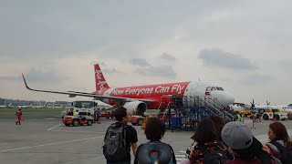 Boarding AirAsia Z2 438 MNL-PPS at NAIA T4