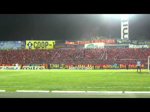 """Turba Roja - Recibimiento FAS vs Alianza"" Barra: Turba Roja • Club: Deportivo FAS"