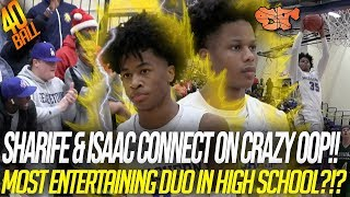 SHARIFE and ISAAC connect on UNBELIEVABLE OOP during a 40PT night | McEachern vs Kennesaw Mtn