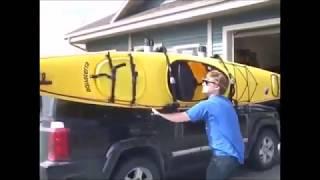 Thule Hullavator Pro 898 Lift Assist Kayak Carrier for Car Roof Racks