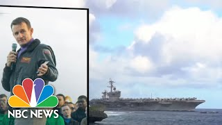 Navy Recommends Reinstatement Of Capt. Crozier, Who Sounded Alarm On Coronavirus | NBC Nightly News