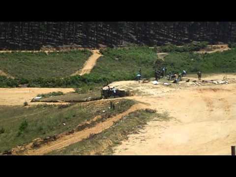 Gun training (Diyathalawa army camp)