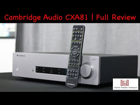 External Review Video tX329jxfywM for Cambridge Audio CXA81 Integrated Amplifier
