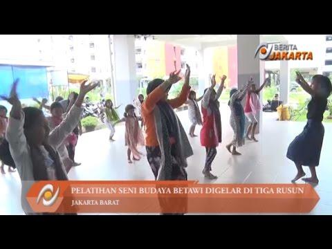 Pelatihan Seni Budaya Betawi Digelar di Tiga Rusun di Jakbar