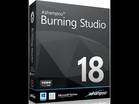Ashampoo Burning Studio tutorial