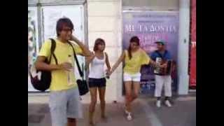 Русские туристы в Греции..mp4