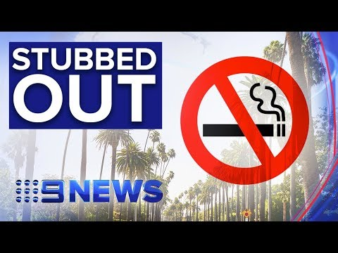 beverly-hills-banning-sale-of-all-tobacco-products--nine-news-australia