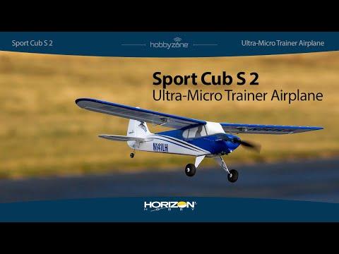 Hobbyzone Sport Cub S2 616mm moteur électrique aile haute BNF Basic incl. SAFE