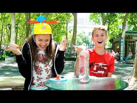 Wet Head Challenge!  (MattyBRaps vs Gracie Haschak)