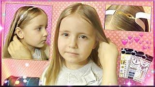 ФЛЕШ ТАТУ НА ВОЛОСЫ ❀  METALLIC FLASH TATTOO HAIR TUTORIAL FOR KIDS ❀ Mom and daughter💗 MILASHKA
