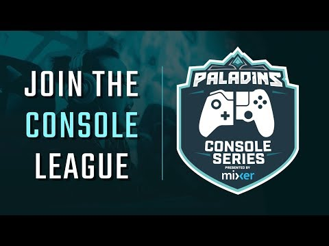 Introducing the Paladins Console Series