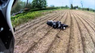2010 Triumph Speed Triple Crash
