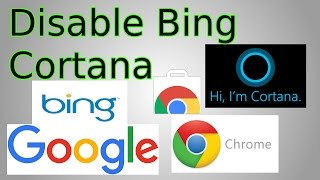 Windows 10: Make Cortana & Start Menu use Google not Bing (ChromeTana extension)