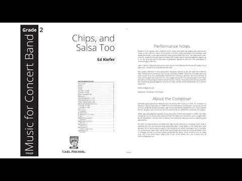 Chips, and Salsa Too (YPS222) by Ed Kiefer